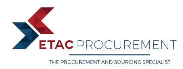 ETAC PROCUREMENT